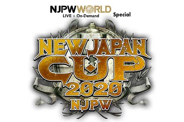 NJPW Cup 2020 logo